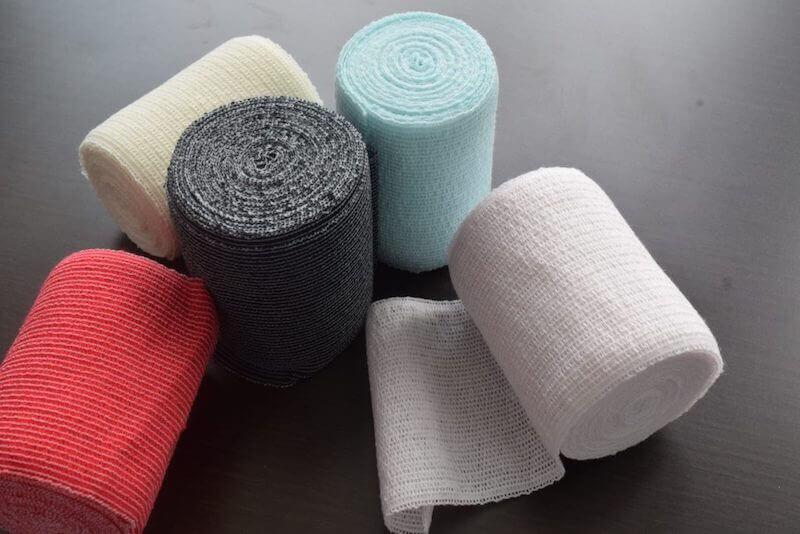 カラー伸縮包帯が欲しいというお問合わせが増えてきています。