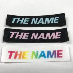 前田ネームのプリントネームと織りネームの違いについて
