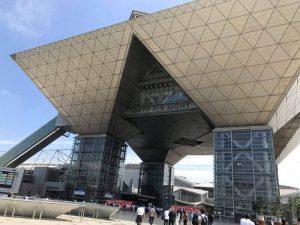 東京ビックサイトで開催されていた展示会へいきました