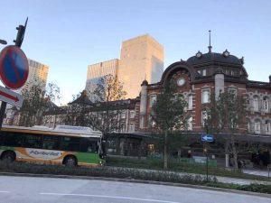 東京駅から帰りました