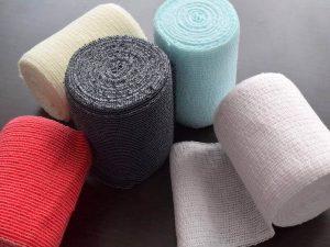 カラー伸縮包帯